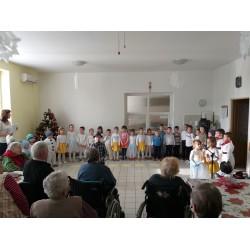 Vianočné vystúpenie detí z MŠ